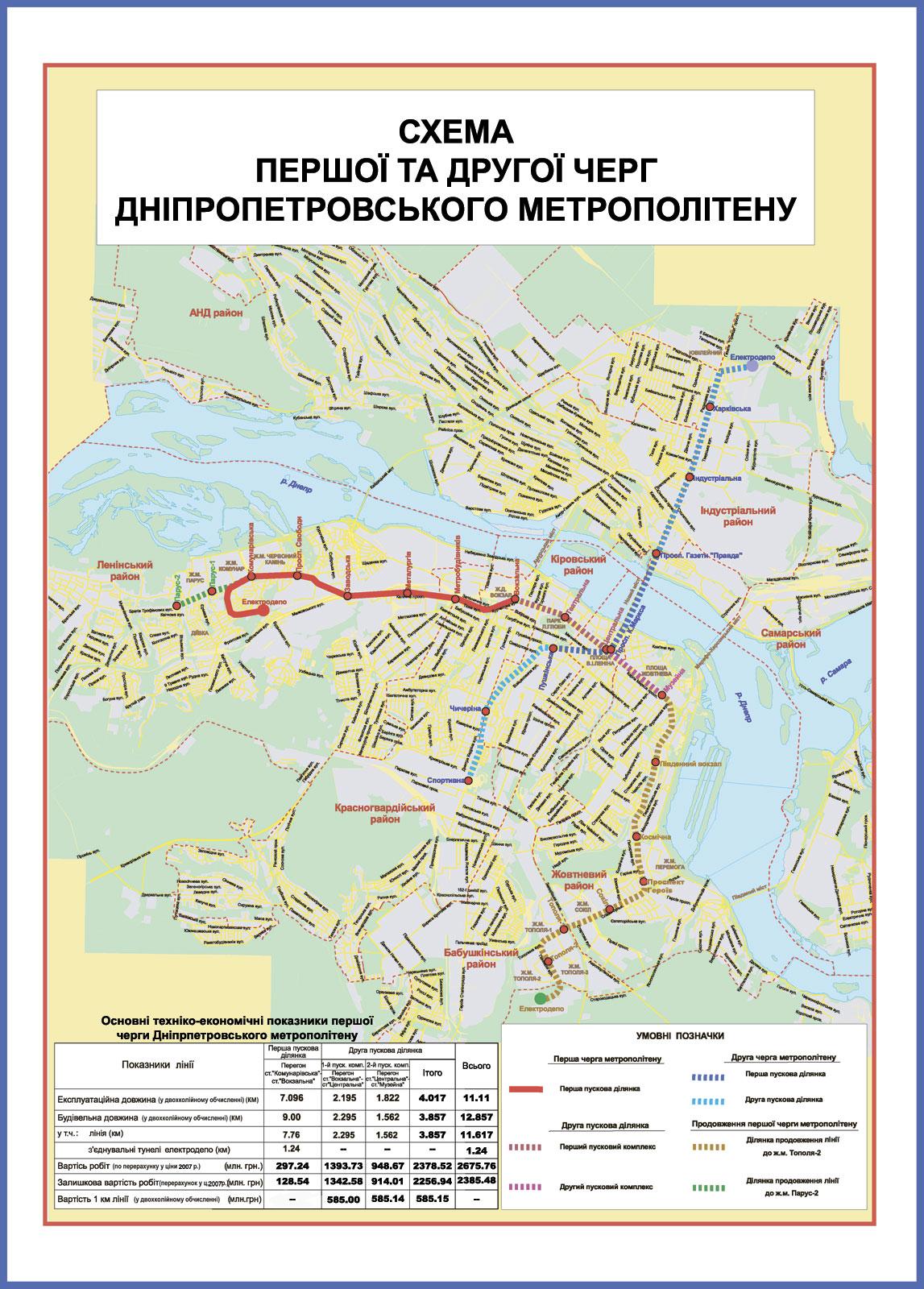 схема строящегося метро казани