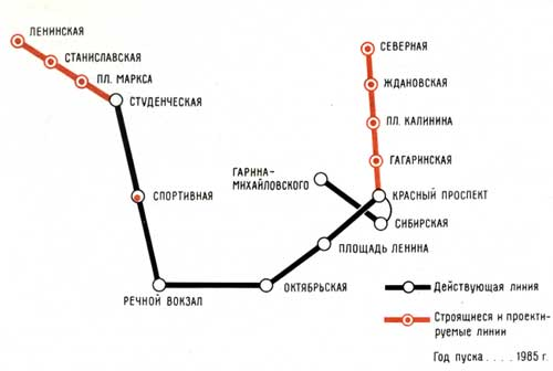Схема перспективного
